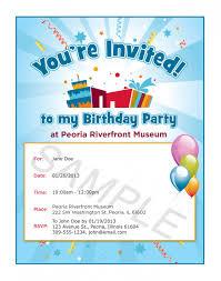 birthday invitations samples invitation card sample for birthday party simple invitation for