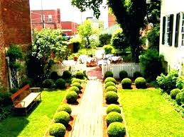 simple garden in house decoration simple front house garden