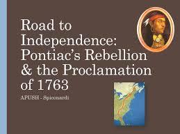 「Pontiac's Rebellion」の画像検索結果