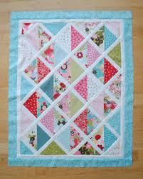 Sophie Car Seat Quilt Â« Moda Bake Shop & I used prewashed cotton flannel in my little quilt because where we live a  heavy quilt isn't necessary. This is a great option for a warm climate ... Adamdwight.com