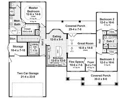 house plan 55603 craftsman style with
