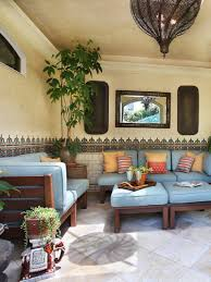 Moroccan Style Living Room Decor Comfortable Look Of Moroccan Theme Outdoor Patio Furniture