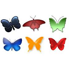 Butterfly Shapes Free Download