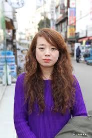 タンポポヘアー 美容室 韓国ストリット ヘアスタイル ロングファンキー