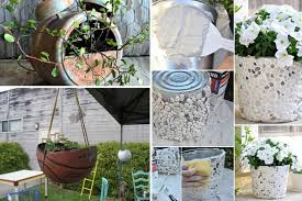 24 Whimsical DIY Recycled Planting Pots on the Cheap - Amazing DIY,  Interior & Home Design