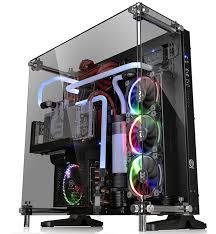 thermaltake core p5 tempered glass edition atx case