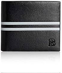 <b>Baellerry Genuine</b> Leather <b>Men's Wallet</b> Slim <b>Mens Purse</b> Mini Card ...