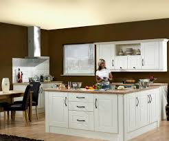 Contemporary Kitchen Styles Contemporary Kitchen With Two Minimalist Windows Design And