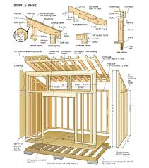 Small Picture 14 X 24 Shed Plans Free Sheds Blueprints 7 Steps To Building
