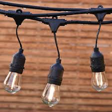 commercial patio lights. Goplus 48FT LED Outdoor Waterproof Commercial Grade Patio Globe String Lights Bulbs T