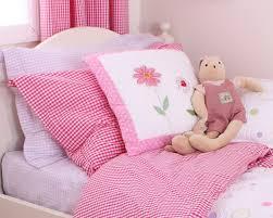 babyface gingham children s bedding in
