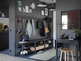 Oak Coat Rack With Baskets Furniture Bench And Shoe Storage Hallway Shoe Rack Shoe Chest 79