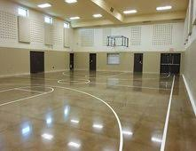 Indoor Basketball Polished Concrete Concrete Floors Polishing & Sealing Ltd  Ottawa, ...