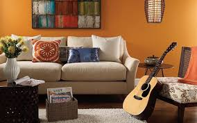 interior design living room color. Casual Living Orange Interior Design Room Color