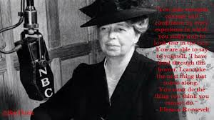 eleanor roosevelt on fear big think you gain strength courage and confidence by every experience in which you really stop to look fear in the face you are able to say to yourself