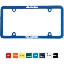 custom license plate frame 4 holes universal