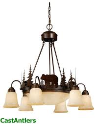 yukon 9 light chandelier