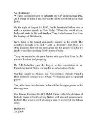Graduation Speech Examples Impressive High School Graduation Speeches Examples Luxury Independence Day