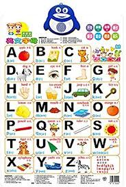 Talking Alphabet Poster Electronic Interactive Alphabet Wall Chart Toddler Educational Toys Learning Toys For 2 5 Years Olds Perfect For Daycare
