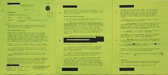 Memorandum For Condoleezza Rice Green Hammer Museum