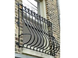 wrought iron window grill faux shutters diy inserts for doors