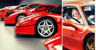 Then goes for a reasonably fast drive. Check Out James May S Stunning Collection Of Ferraris Hotcars