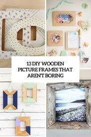 diy wooden picture frames that a boring