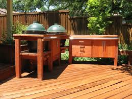 12 photos gallery of green egg built in outdoor kitchen ideas