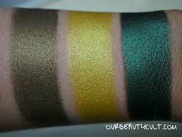 next i ll be swatching all 29 of mug s foiled shadows so you can see how the new shades pare to the older ones