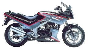 kawasaki gpz 500s 1991 92