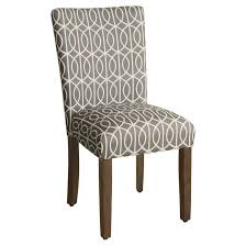 homepop parsons pattern dining chair wood set of 2