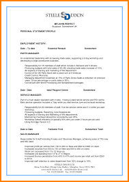 Perfect Resume Examples Cv Example Pdf My Of Resumes 2014 2012