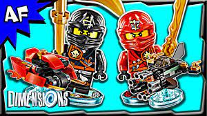 Lego Dimensions NINJAGO Team Pack 3-in-1 Build Review 71207 - YouTube