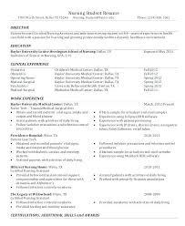 Emergency Room Nurse Resume Template Sample Of Nursing Resume Wikirian Com