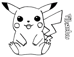 Free Printable Pikachu Coloring Pages For Kids For Orel Pokemon