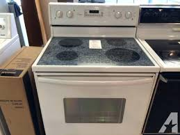 kitchen appliances for in and stoves ranges refrigerators classifieds page amana glass top