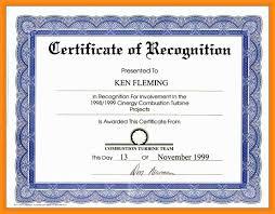Certificates Enchanting Sample Award Certificates Templates