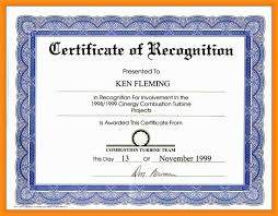 Sample Certificate Award Certificates Enchanting Sample Award Certificates Templates
