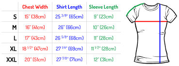 Unisex T Shirts Online India Unisex T Shirts Size Chart