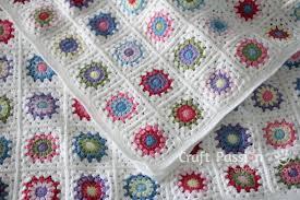 Sunburst Granny Square Blanket - Free Crochet Pattern &  Adamdwight.com