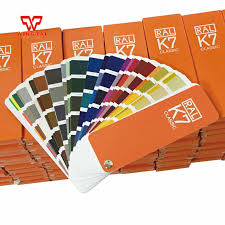Ral K7 Colour Chart 1 Book 20 50mm 213 Kinds New Ral K7 Classic Colors Guide Ral
