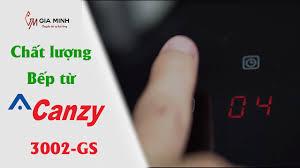 Đánh giá bếp điện từ đôi Canzy CZ 3002-GS chất lượng giá chưa đến 8 triệu  đồng - YouTube