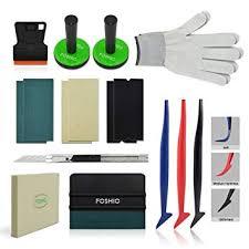 <b>FOSHIO</b> Vehicle <b>Vinyl Wrapping</b> Applicator Tool Kit for Car Window ...