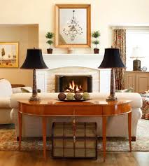 Console Table Lights Philadelphia Ivory Console Table Family Room Traditional