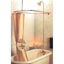 clawfoot tub plumbing kit tubs shower enclosures tub shower kits great pedestal tub with shower plumbing