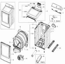 Samsung dryer parts diagram inspirational samsung model dv52j8700ep rh athenatech us samsung washer parts diagram samsung