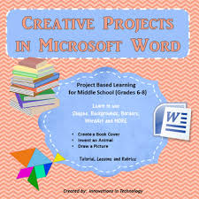 Word Project Creative Projects Using Microsoft Word Shapes Wordart Borders More