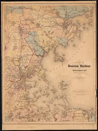 Boston Harbor Chart File Chart Of Boston Harbor And Massachusetts Bay
