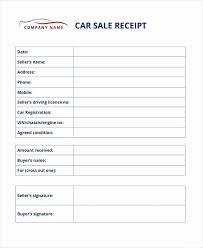 Car Sale Receipt Template Best Of 13 Car Sale Receipt