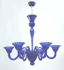 blue glass chandelier blue glass chandelier two royal blue glass chandeliers 2 blue in blue glass